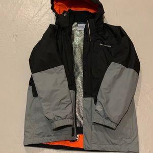 Boys Columbia Fleece Interchange Jacket